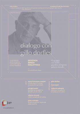 Gillo Dorfles a Urbino