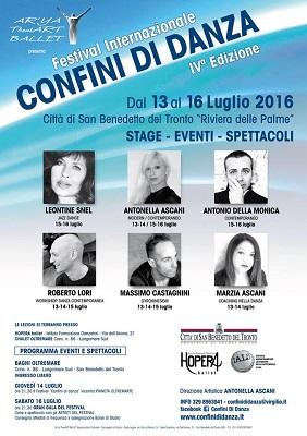Festival Internazionale Confini di Danza IV Edizione