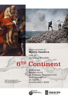 Mostra 6th continent a Macerata