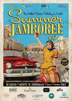 Summer Jamboree 2016 a Senigallia dal 30 luglio al 7 agosto