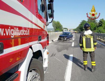 Incidente stradale sulla SS76