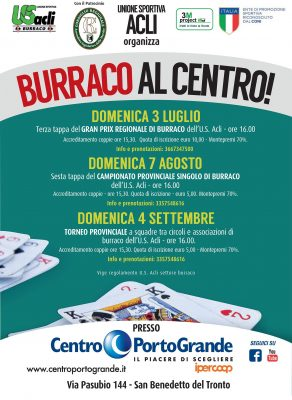 Locandina Burraco al Centro