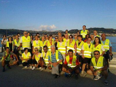 """""""Salute in cammino in acqua"""" anche a Ferragosto per il terzo anno consecutivo"""