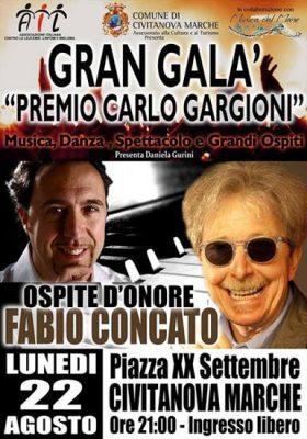 Concato al Premio Gargioni
