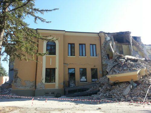 Terremoto sisma scuola Amatrice