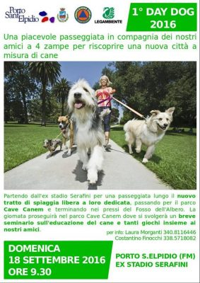 1° Day Dog Porto Sant'Elpidio
