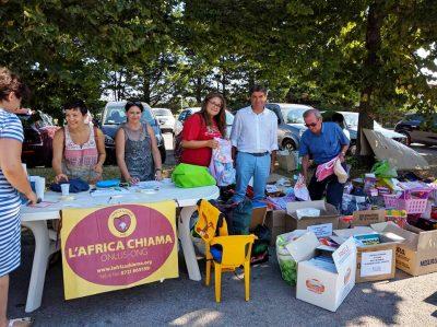Volontari L'Africa Chiama per i terremotati