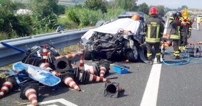 Incidenti stradali: due morti e un ferito in A14, tra Loreto e Civitanova Marche