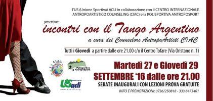 Ascoli Piceno, riprende il tango argentino a Tofare