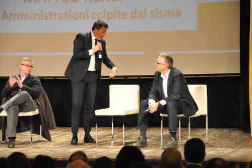 Renzi a Macerata