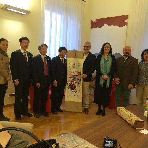 Ricevuta a Macerata una delegazione del Beijing Administrative College di Pechino