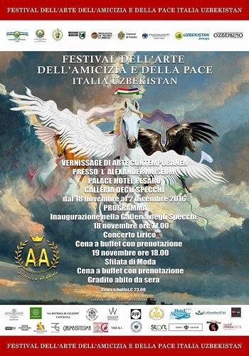 A Pesaro il Festival dell'Arte, dell'Amicizia e della Pace Italia-Uzbekistan