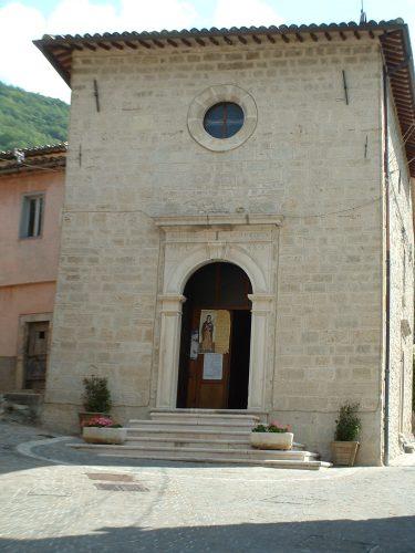 Chiesa Castelsantangelo sul Nera