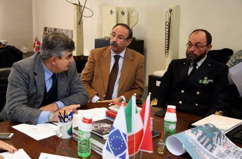Incontro autorità portuale Pescara