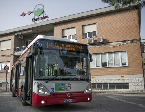 Conerobus, emergenza neve: utilizzati autobus con terza catena
