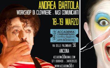 'Nasi Comunicanti', workshop con Andrea Bartola ad Ancona