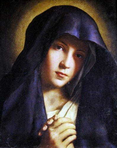 Madonna orante del Sassoferrato