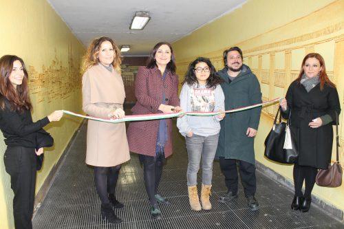 """Macerata, la Public Art """"rigenera"""" il sottopasso di viale Trieste grazie a una studentessa dell'ABA"""
