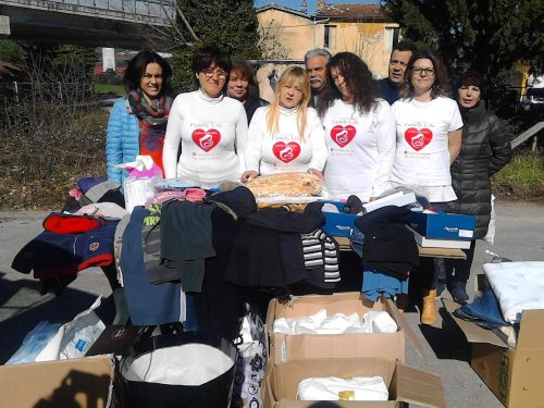 Da Pescara partono aiuti per i terremotati delle Marche