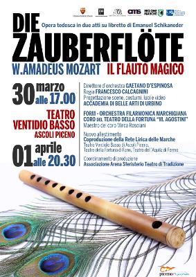 il flauto magico Ascoli Piceno