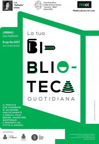 Urbino: sviluppo della Media Library On Line, una vera Biblioteca quotidiana in tasca