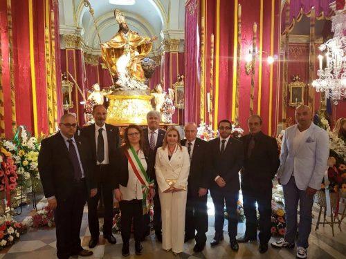 Delegazione maceratese a Floriana per la festa del patrono san Publio