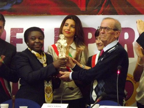 L'on. Kyenge incontra a Fano 'L'Africa Chiama'