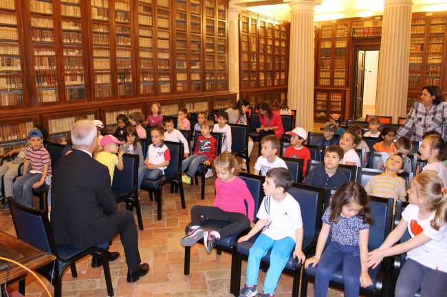 Macerata, piccoli cittadini incontrano il sindaco Carancini