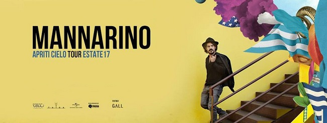 Mannarino Apriti Cielo Tour Estate 2017