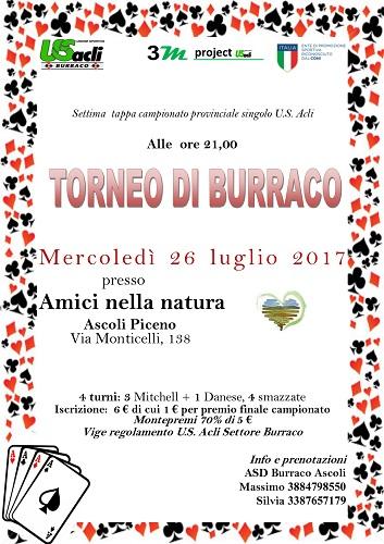 torneo burraco 26-07-2017