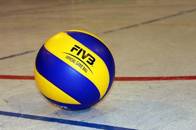Background Abstract Sport Volleyball Blue Yellow Ball: Pallavolo, Lube Civitanova: Una Scommessa Da Vincere