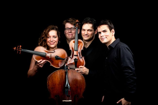 The Josef Suk Piano Quartet (foto Daniel Havel)