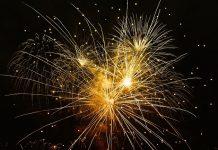 Capodanno fuochi d'artificio