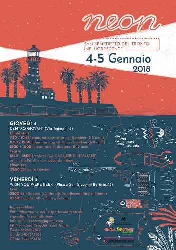 San Benedetto del Tronto, NEON Festilval: successo per la 2° edizione