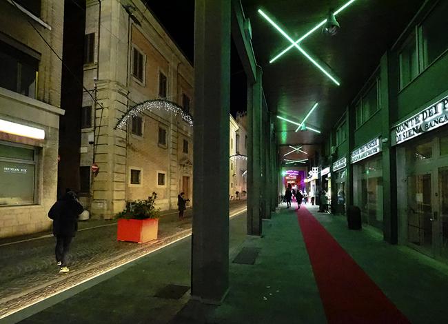Pesaro via San Francesco
