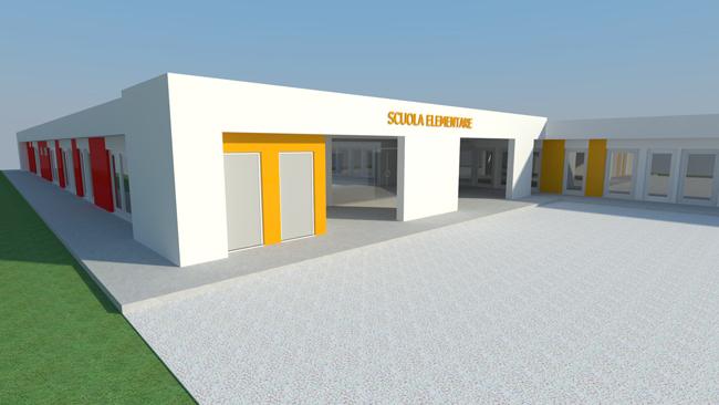 San Severino Marche, edificio scolastico