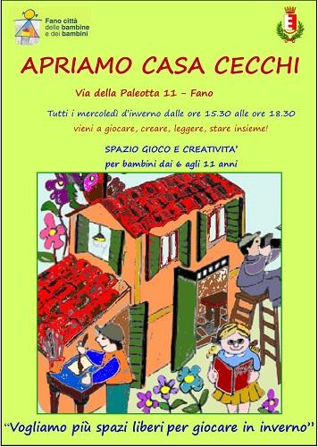 apriamo casa cecchi