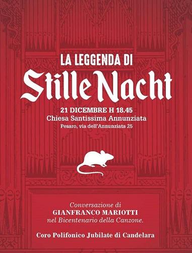 Pesaro, La Leggenda di Stille Nacht giovedì 21 dicembre