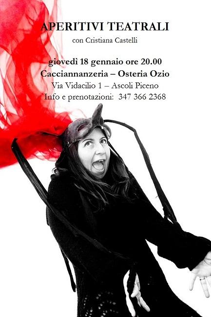 Ascoli Piceno, da oggi al via gli Aperitivi Teatrali