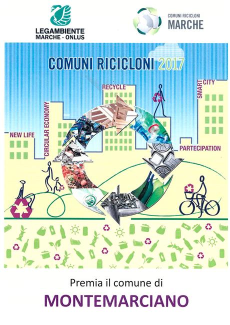 Montemarciano, comuni ricicloni: doppio riconoscimento ambientale