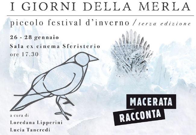 """Piccolo Festival d'inverno """"I Giorni della Merla"""" a Macerata"""