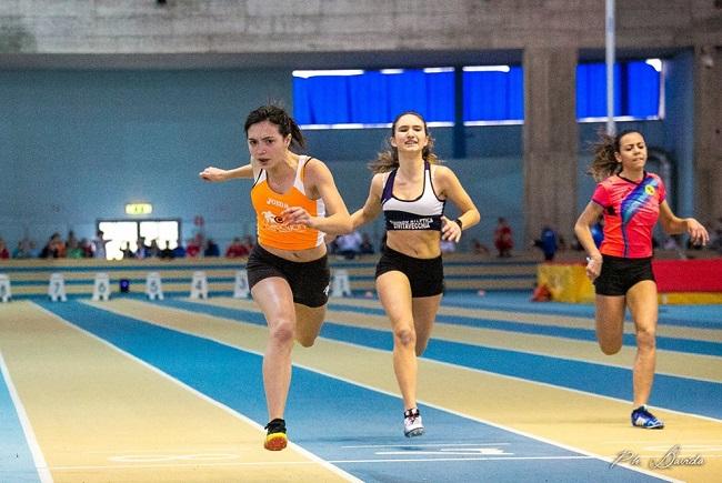 Ancona, atletica: Irene Pagliarini vince i 60 metri, bene nella master Partemi