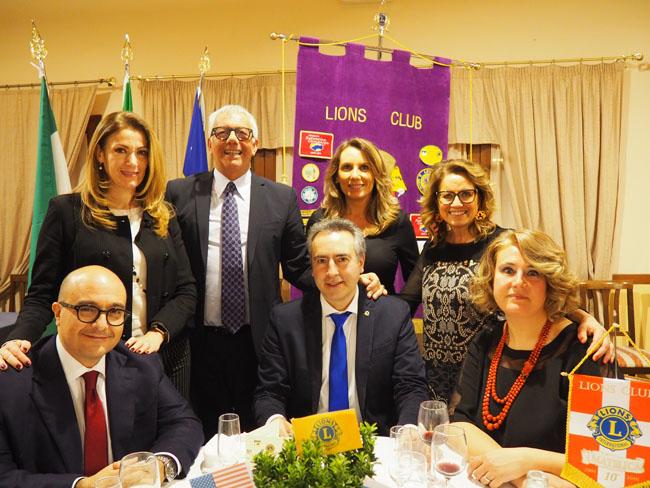 Matelica, grande partecipazione per l'incontro Lions Club con Sangiuliano