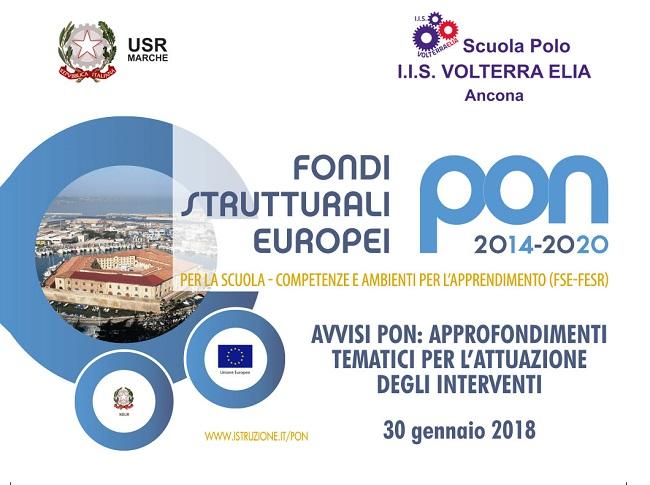 Ancona, fondi PON: il 30 gennaio seminario sui finanziamenti UE