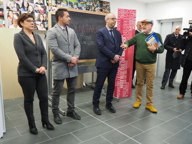 Pieve Torina, nuova scuola: al via le lezioni con De Micheli