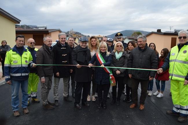 San Severino Marche, consegnate le ultime 22 casette