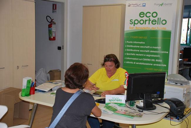 San Benedetto, EcoSportello: dal 20 gennaio anche il sabato