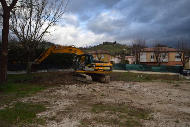 San Severino Marche, consegnato cantiere per realizzazione edificio scolastico