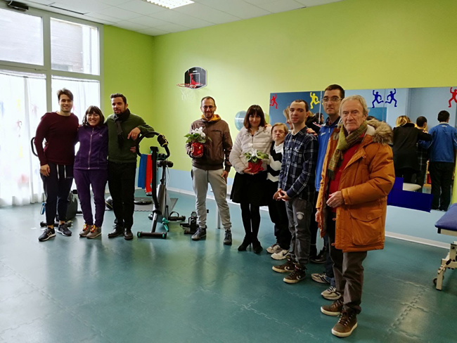 San Benedetto, donate attrezzature sportive al centro L'Arcobaleno