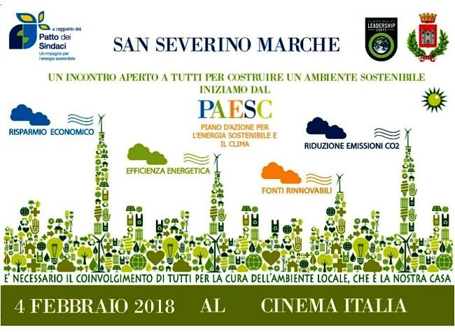 San Severino Marche, incontro su fonti rinnovabili e risparmo